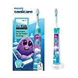 Philips Sonicare for Kids Connected Sonic Electric Toothbrush, HX6321/02 by Philips Sonicare