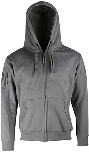 Special Erwachsene Ops Für Kostüm - Kombat Tactical Mens Spec Ops Fleece Hoodie Hoody Grey And Deluxe Heavy Weight Material Military Special Forces (XL  = Chest  44-46 inch)