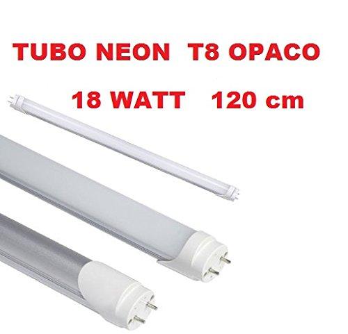 2er Auralum® 120cm 20W T8 G13 Leuchtstoffröhre Weiß 6000~6500K 2835*120LED 2100LM LED Röhre Tube Leuchtmittel mit der Cremig Weißen Abdeckung inkl. LED Starter ersetzt 36W Gasröhre Tld Single