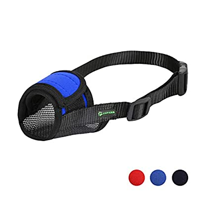 RockPet Soft Dog Muzzle Adjustable with Hook & Loop for Medium Small and Large Dogs,Flexible Muzzles to Prevent Biting, Barking and Chewing from Yiwu Tongyan Electronic Commerce Co.Ltd.