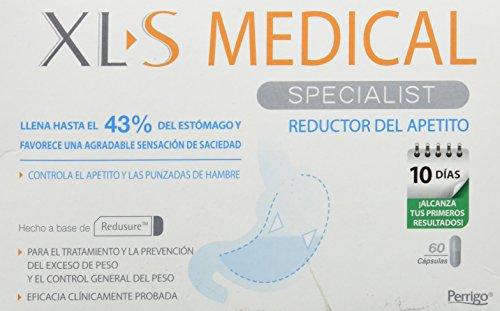 XLS Medical - Cápsulas reductoras del apetito. Tratamiento y prevención del exceso de peso y control general del peso