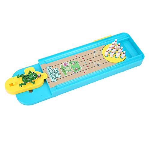 Bowling Tabelle (VGEBY Tabelle Bowling Spielzeug, Kinder Mini Desktop Bowling Spiel Set Kinder Unterhaltung Spielzeug)
