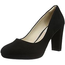 Clarks Kendra Sienna, Zapatos de Tacón Para Mujer, Negro (Black Suede)