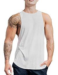 3bf8ce132fce Canotta Uomo, Meibax Moda Uomo Senza Maniche Sport Gilet Casual Solido  Serbatoio Top Camicia Uomo