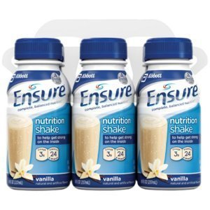 ensure-vanilla-shake-nutrition-drink-8-oz-bottle-case-contains-24-bottles-by-ross-nutritionals
