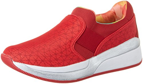 Lotto Damen Iris Lf Amf W Sneakers Rot (Red FL/Red Rsp)