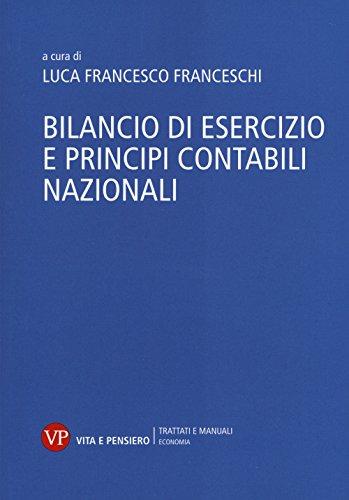 Bilancio di esercizio e principi contabili nazionali