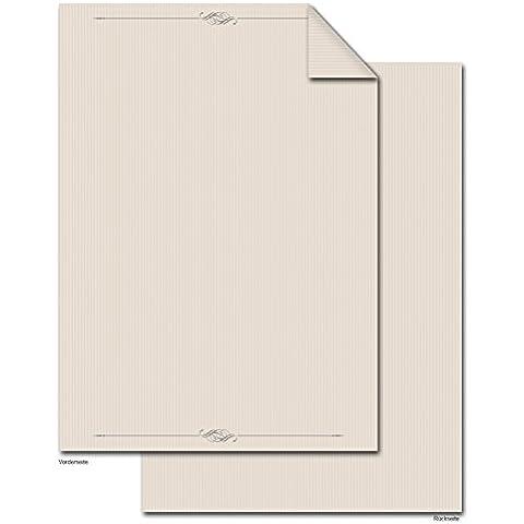 '50fogli DIN A4di alta qualità–Fogli di carta da lettere