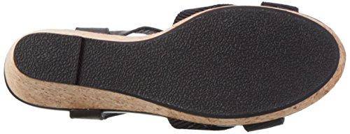 Shoe the Bear Alec L, Sandales Bout Ouvert Femme Multicolore (110 BLACK)