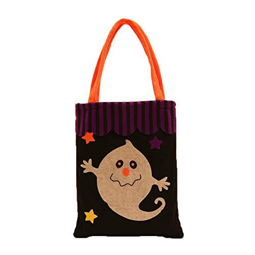 JAGENIE Halloween-Accessoires, bunt, Halloween-Zubehör, Süßigkeiten-Geschenk, Tasche, Hexe, Kinder-Handtasche, -
