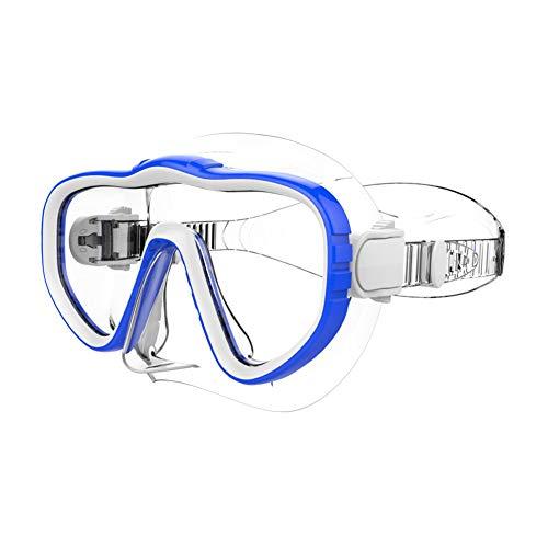 Percetey Erwachsene Schwimmbrille Crystal Clear Wide View Taucherbrille Schnorchel Maske