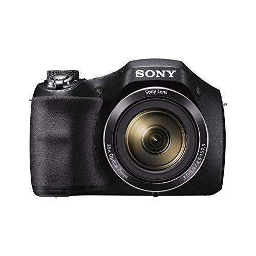 Sony Black DSC-H300/B Digital Camera with 20.1 Megapixels (Open Box)