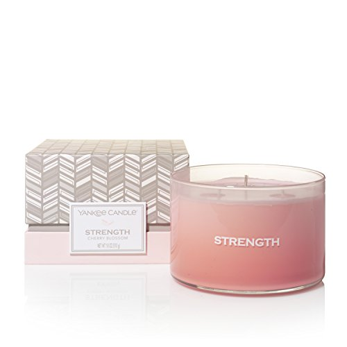 YANKEE CANDLE Making Memories Collection Strength, Rosa, 11,6 X 11,6 X 7,5 Cm