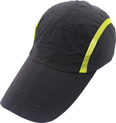 ball Cap UV-Schutz Mütze Sport Baseballkappe Reisen Sonnenhut Farrand Sommermütze Angelnhut Training Sonnenmütze mit Netz Lässig Hut Wandern Schirmmützen ()