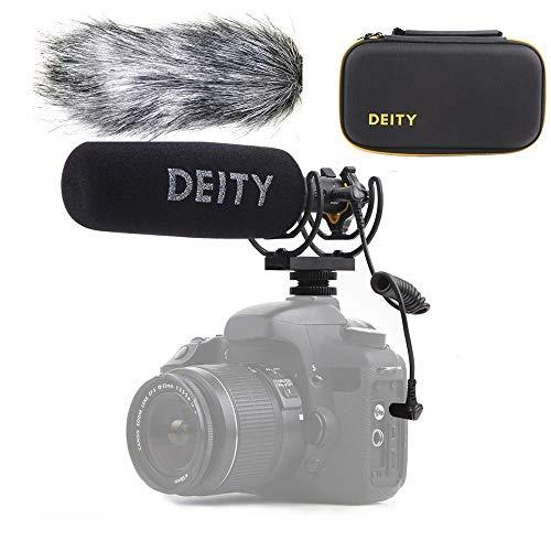 Deity V-Mic D3 Pro High SNR Super-Nierenmikrofon mit Rycote Shockmount für DSLRs, Camcorder, Smartphones, Tablets, Handy Recorder, Laptop, Bodypack-Transmitter und Windschutz