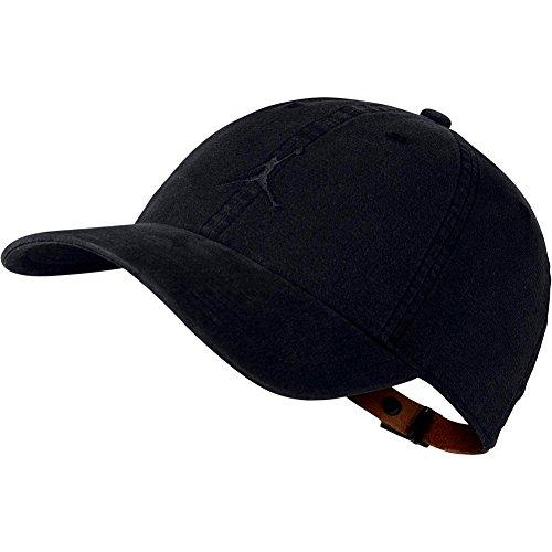 Nike jordan h86 jumpman washed, cappello unisex – adulto, nero/nero, taglia unica