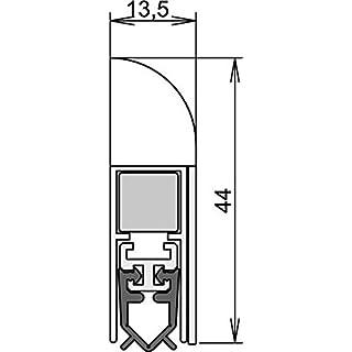 Athmer Wind-Ex für Innentüren, 985 mm, silber
