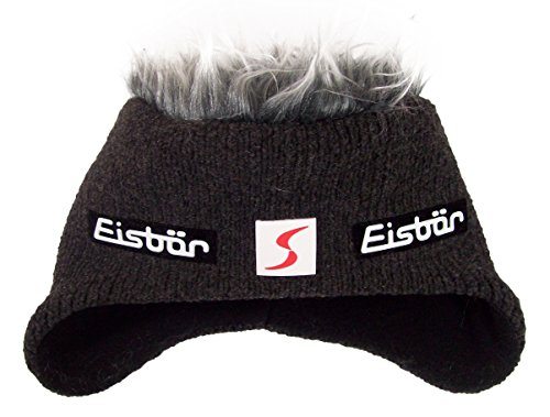 Eisbär Cocker MU SP Skipool Noir avec Cheveux Gris | Adulte - - Black with Grey Hair,
