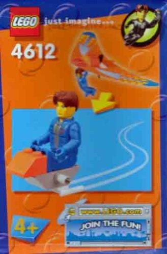 LEGO 4612Jack Stone-Segelflugzeug