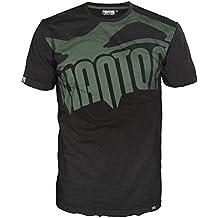 """Phantom Athletics T-Shirt """"Supporter"""" - Black/Green - Sport Freizeit Gym Lifestyle Shirt Herren"""