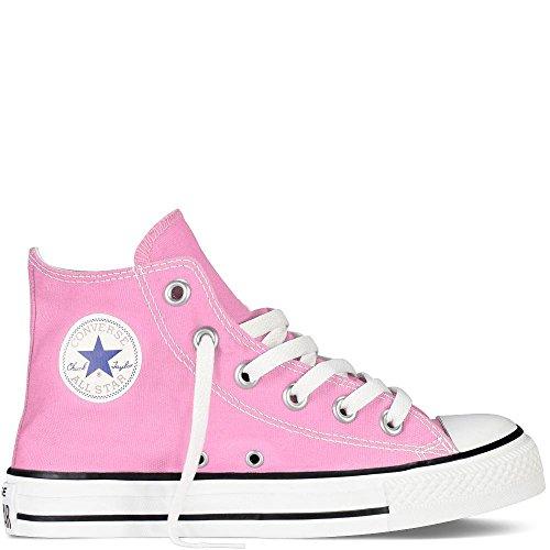 Converse Unisex-Kinder Chuck Taylor All Star High Hohe Sneaker, Pink, 35 EU