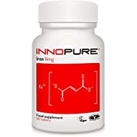 IRON Supplement For Energy & Immunity   3 Months Supply 90 Tablets   Innopure®
