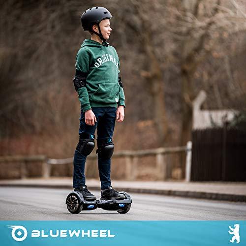 Testsieger 6.5″ Hoverboard Bluewheel HX320 mit UL2272 Sicherheitsstandard – Kinder Sicherheitsmodus mit App – Bluetooth Lautsprecher – 700W Motor – LED – Elektro Scooter Self-Balance E-Skateboard - 5