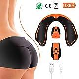 Shubel Electrostimulateur Musculaire Fessier,Appareil de Hips massage portable USB rechargeable,Sculpter les courbes trainer...