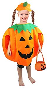 Maibos Unisex Kids Halloween Pumpkin Halloween Party Costume Size Standard …