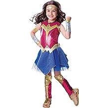 Wonder Woman Rubie ´S la Ligue des Justiciers de Luxe Costume Déguisement  Fille 1331b3274693