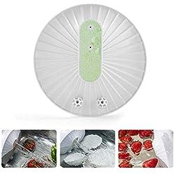 OOOUSE - Lave Vaisselle ultrasonique - Mini Lave-Vaisselle Haute Pression ondulée - USB Smart - Nettoyant de Lave-Vaisselle créatif pour Fruits et légumes - Baguettes à découper