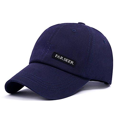 Sport Trucker Baseball Cap Baseballmütze Hut Verstellbar UV Schutz Baseball Kappe für Damen und Herren (Blau) (Angeln Trucker Hut)