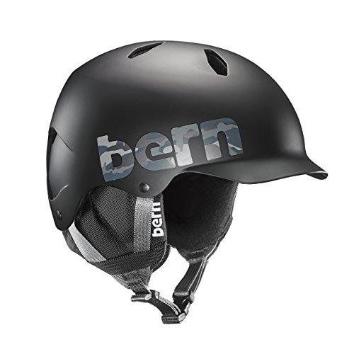Bern Jungen Bandito Helm, Matte Black Camo, M/L