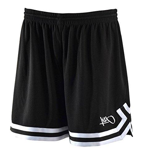k1x hardwood ladies double x shorts schwarz/weiß