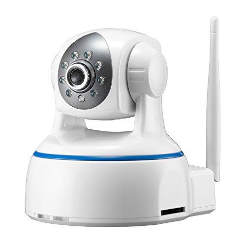 Minidiva Indoor 1080P 2 Megapixel drahtlose WIFI IP-Überwachungskamera - 350 Grad (horizontal)