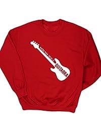HippoWarehouse ES2 Nacida Para Tocar La Guitarra (Bajo) jersey sudadera suéter derportiva unisex niños