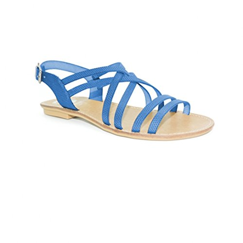 Sandales Vaquetilla Azul e16 - Porronet Bleu