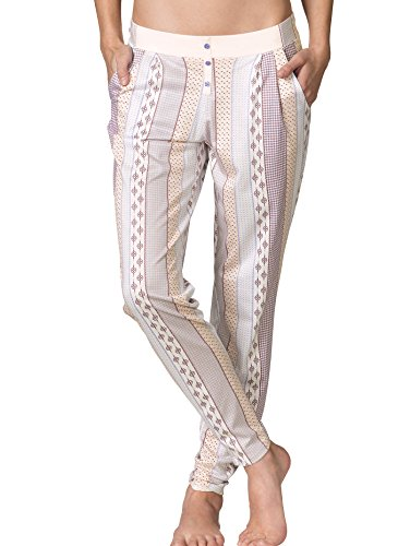 Calida 29707 schlafhose long pour femme Rose - Rose Water