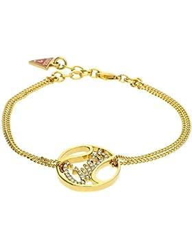 Guess Damen Armband Metall Gold UBB12002