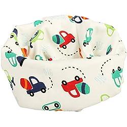 1pc niños cuello bufanda de algodón bufanda de cuello caliente para el otoño y el invierno (coche)