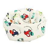 mxdmai 1 stück Baby Schal Baumwolle Schal für Baby Mädchen und Jungen Warmer Halstuch für Herbst und Winter (Auto)