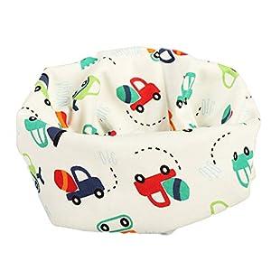 1pc niños cuello bufanda de algodón bufanda de cuello más caliente para el otoño y el invierno (corazón) 9