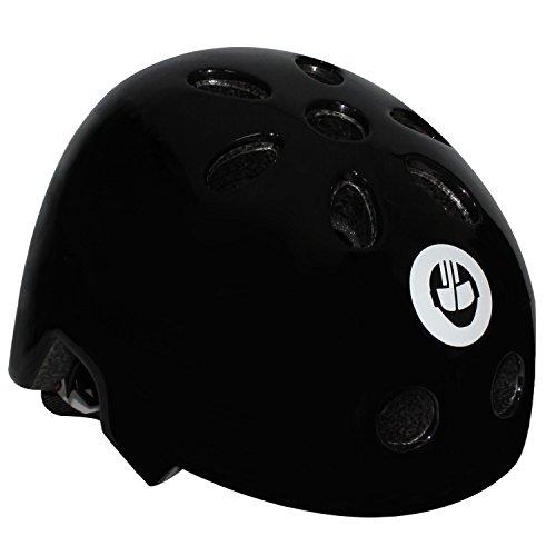 GOTRAX multi-sport di skateboard scooter e casco da bici piccolo nero