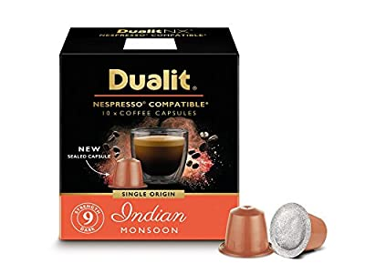 Dualit NX Origins Indian Monsoon Capsules pk10