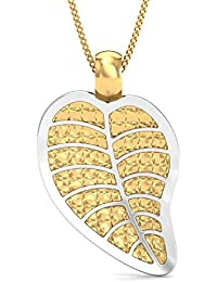 Stylori Italian Collection 18k (750) Two Colour Gold Pendant