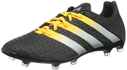 adidas Herren Ace 16.2 FG/AG Fußballschuhe Schwarz (Core Black/Silver Met./Solar Gold) 47 1/3 EU