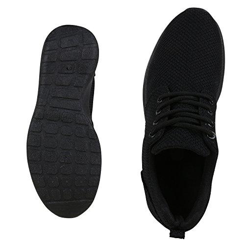 Ajvani, Sneaker donna Total Schwarz