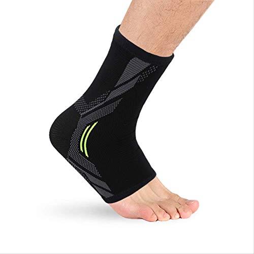 RTGFS 1 STÜCKE Knöchelbandage Kompression Stützhülse Elastische Atmungsaktive für Verletzungen Recovery Gelenkschmerzen Korb Femme Fuß Sport Socken S 1 Stück (Kompressions-socken Mit Designs)