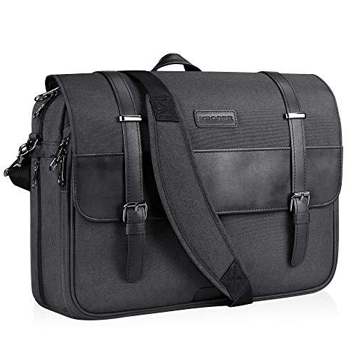 KROSER Laptop Tasche 15,6 Zoll Laptop Aktentasche