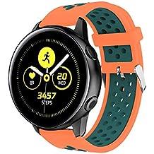 MINXINWY_Relojes de Correa Samsung Galaxy Watch Active, Correa Deportiva Que Absorbe el Sudor
